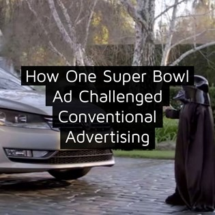 How One Super Bowl Ad Challenged Conventional Advertising Execution